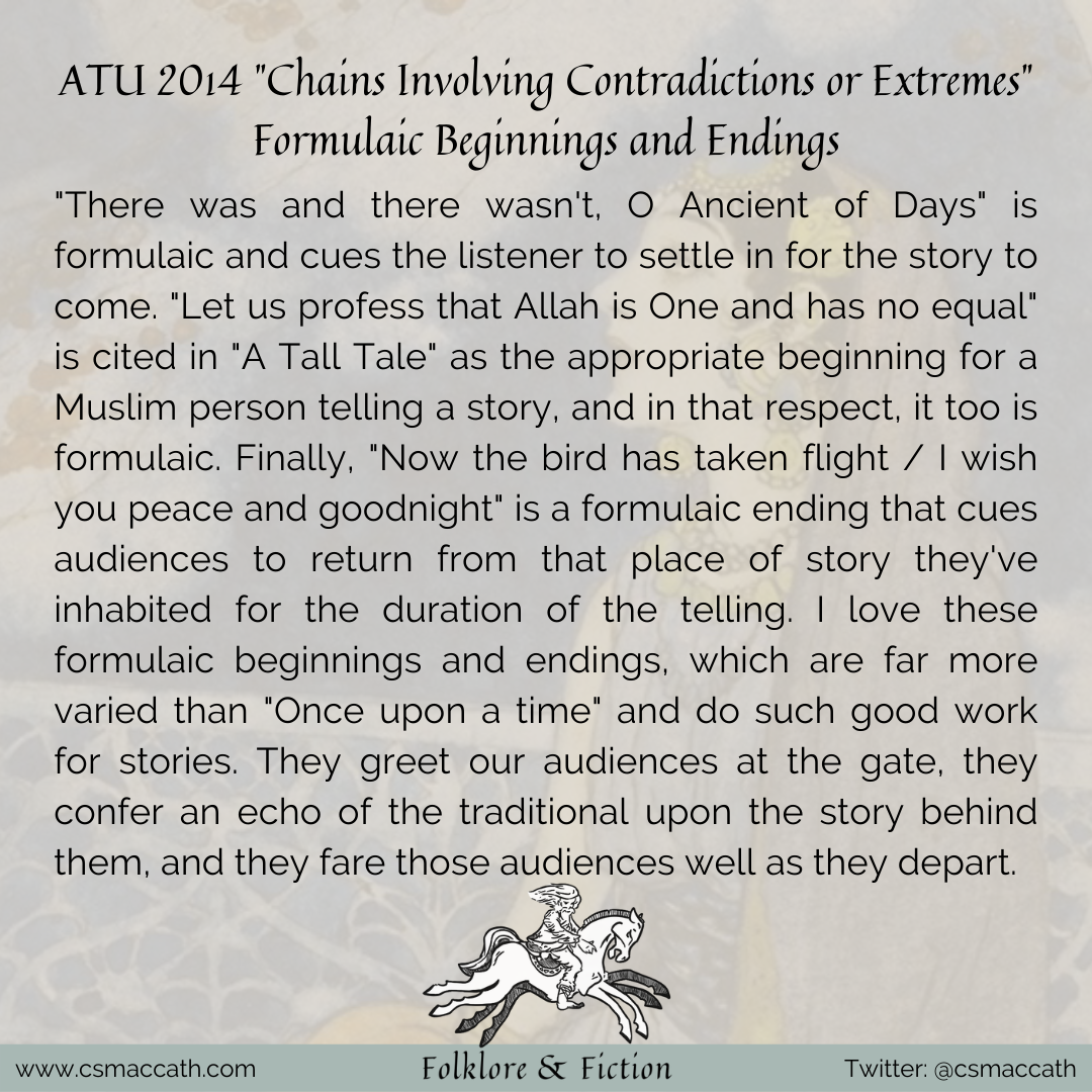 ATU 2014 Chains Involving Contradictions or Extremes 03