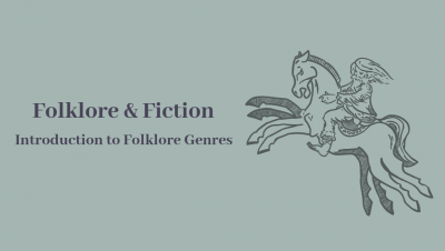 Introduction to Folklore Genres