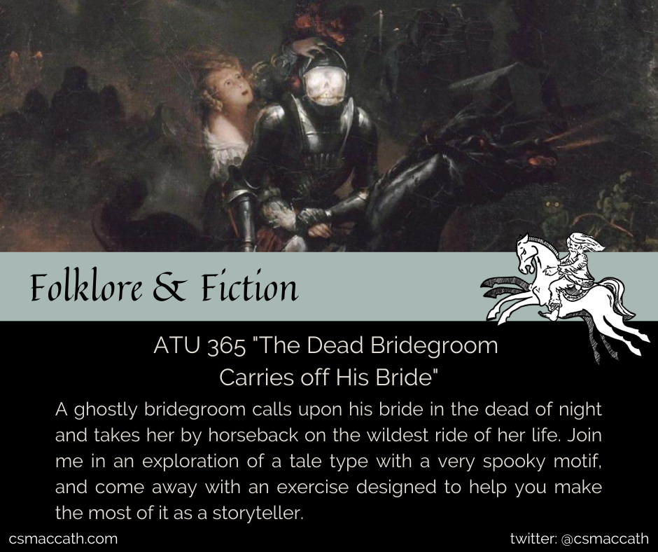 ATU 365 The Dead Bridegroom Carries Off His Bride