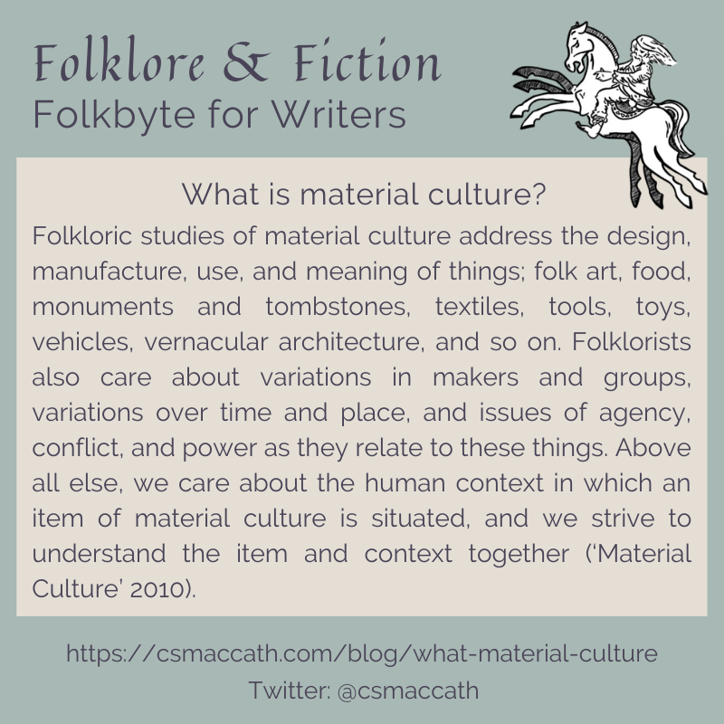 Folkbyte Material Culture 1