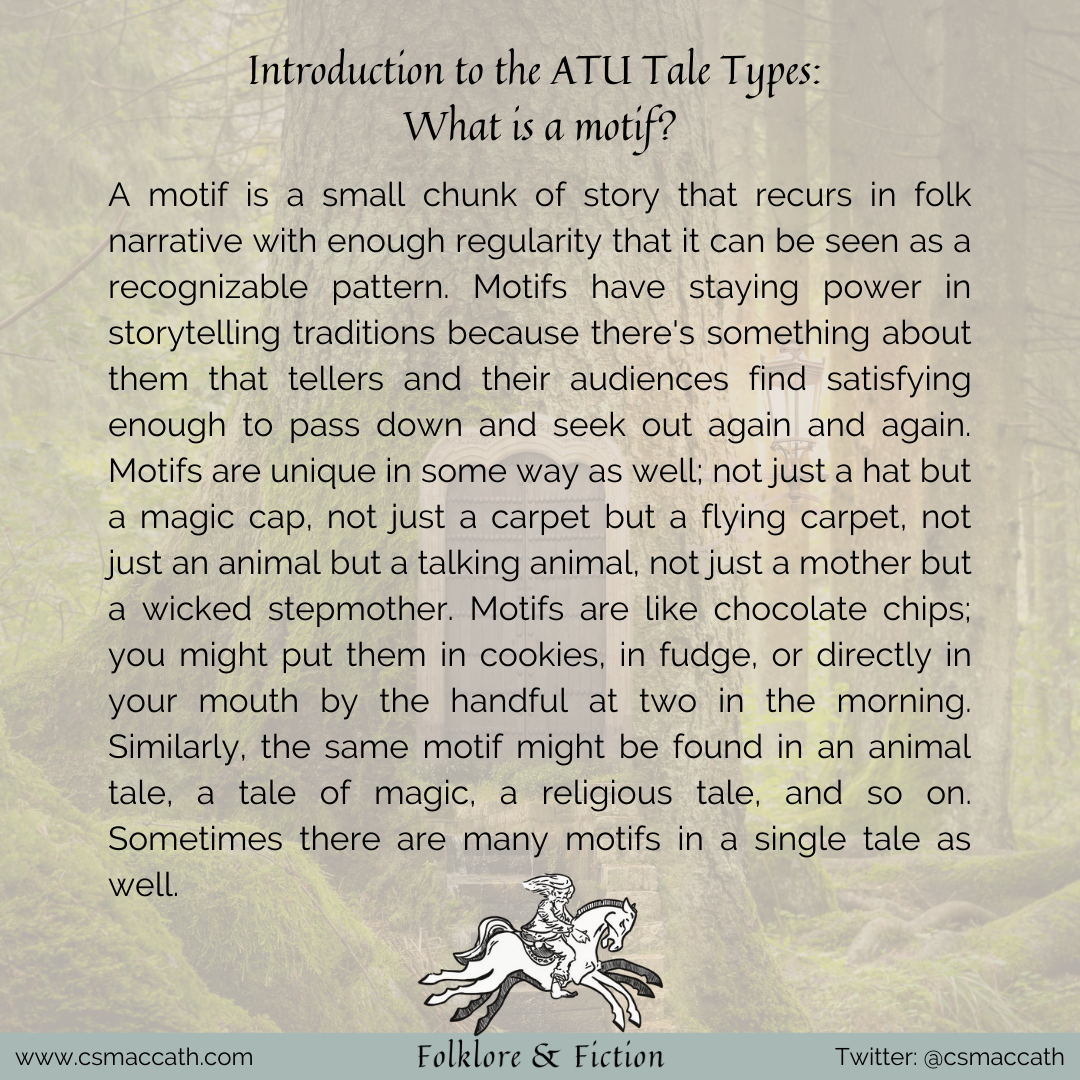 Introduction to the ATU Tale Types 1