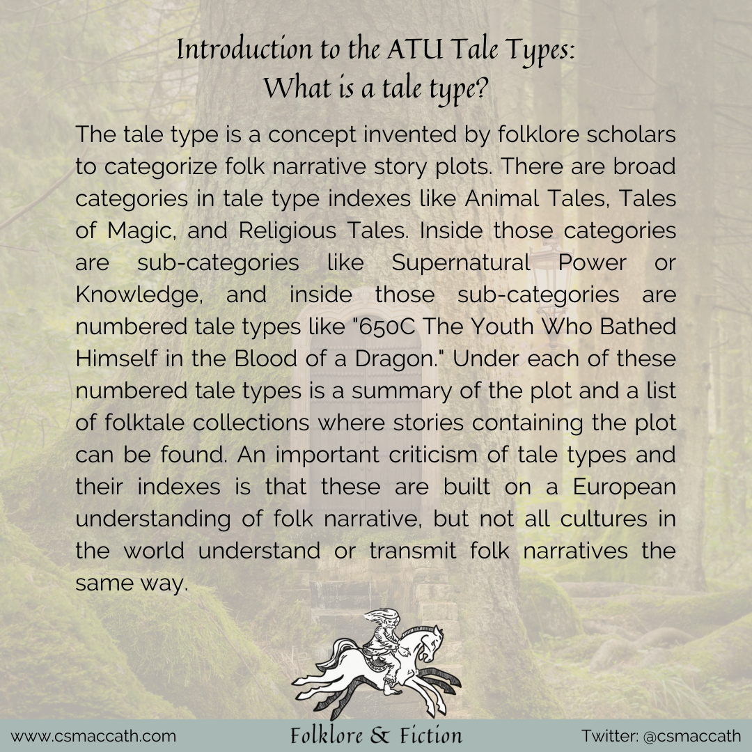 Introduction to the ATU Tale Types 2